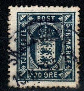 Denmark #O24 F-VF Used CV $20.00 (X9648)