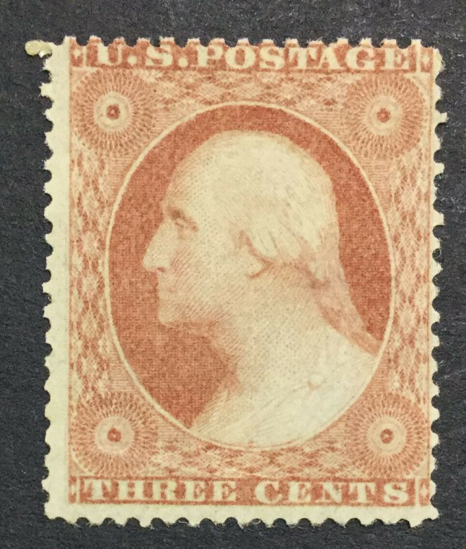MOMEN: US STAMPS #26 MINT OG NH LOT #36460