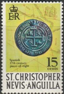 Saint Christopher, Nevis, & Anguilla,  #215 MNH From 1970