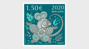 Estonia 2020 Chinese New Year - Year of the Rat MNH**