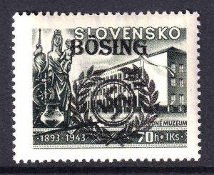 SLOVAKIA B18 BOSING OVERPRINT OG NH U/M VF BEAUTIFUL GUM