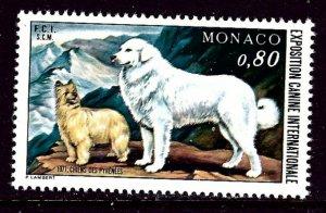 Monaco 1059 MNH 1971 Dogs    (ap4143)