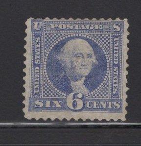 US Stamp Scott #115 Mint NO GUM SCV$1000