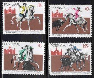 PORTUGAL Scott 1931-1934 MNH** Horse set