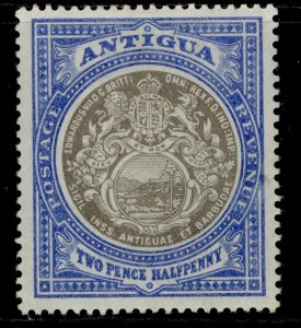 ANTIGUA EDVII SG34, 2½d grey-black & blue, M MINT. Cat £19.