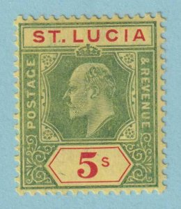 ST LUCIA 63  MINT HINGED OG * NO FAULTS VERY FINE!