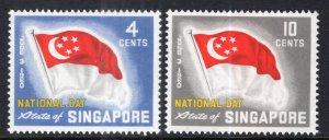 Singapore 49-50 Flags MNH VF