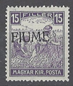 COLLECTION LOT # 2012 FIUME #2 MNH 1918 CV= $105