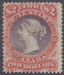 Canada Revenue scott #FB35 used F-VF
