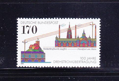 Germany 1683 Set MNH Energy Transmission
