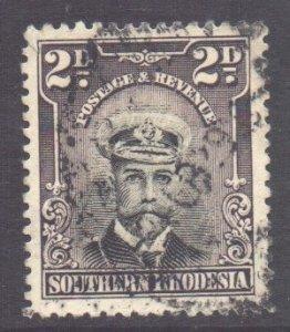 Southern Rhodesia Scott 4 - SG4, 1924 George V 2d used