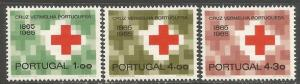 PORTUGAL 955-57 MNH RED CROSS Z091