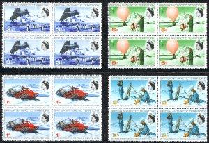 British Antarctic Territory Sc# 20-23 MNH Block/4 1969 Scientific Work 35th