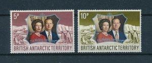 [102945] British Antarctic Territory 1972 Birds penguins seal royalty  MNH