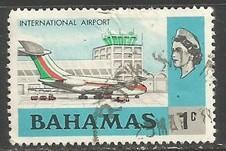 BAHAMAS 313 VFU AIRPLANE 1051F-8