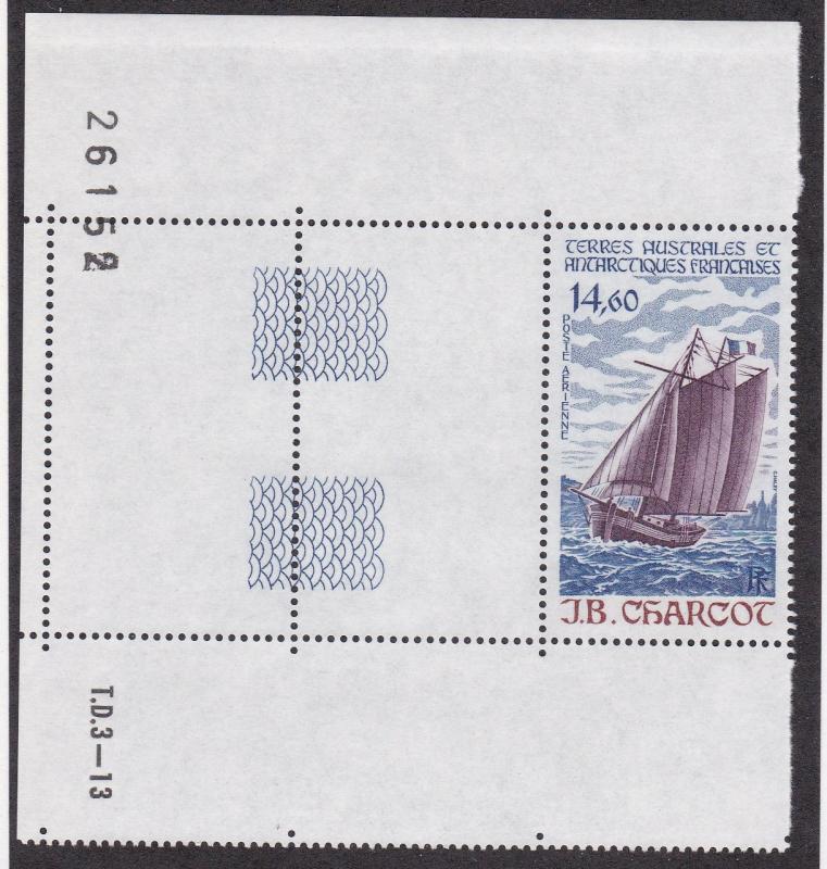 French Southern Antarctic Territory # C96, Ship J B Carrcot, NH, Half Cat.