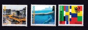Switzerland 2012 - Tourism ,  MNH set  # 1457-1459
