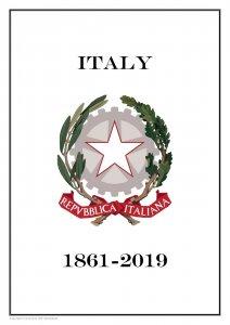 Italy Italia 1861-2019  PDF(DIGITAL) STAMP ALBUM PAGES
