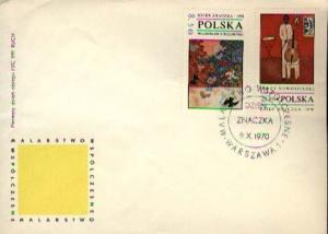 Poland, First Day Cover, Art