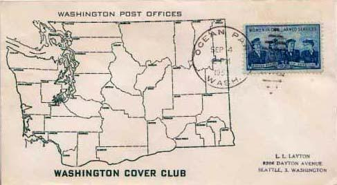 United States, Post 1950 Commemoratives, Washington
