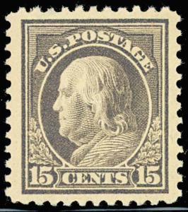 #514 15¢ MINT XF-SUPERB OG NH JUMBO PSE GRADED 90J CERT BT1509