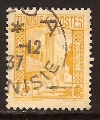 Tunisia  #  133  used