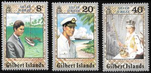 Gilbert Islands # 293 - 95 Mint Never Hinged