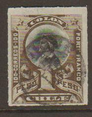 Chile #76 used
