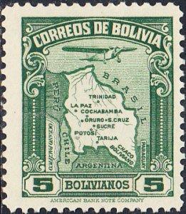 Bolivia  #C50 MH