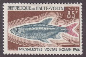 Burkina Faso 200 Micralestes Voltae 1969