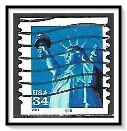 US #3477 Statue of Liberty PNC Pl#6666 Used
