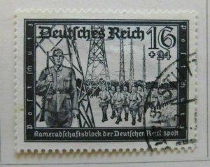 A6P31F120 Germany Semi-Postal Stamp 1941 16+24pf used