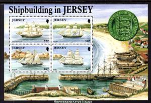 Jersey Scott 599a Mint never hinged.