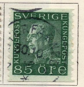 Sweden 1920-25 Early Issue Fine Used 85ore. 143393