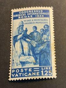 Vatican City Sc# 46 Mint Hinged MH - 1934 Juridical Congress (1935) Cv $65