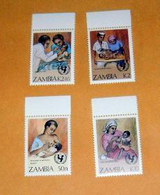 Zambia - 440-3, MNH Set. UN Campaign. SCV - $4.05