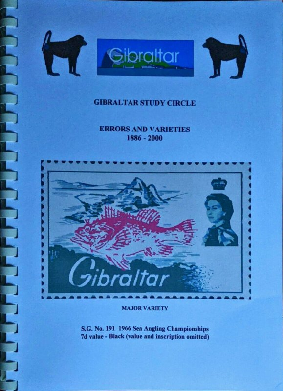 Gibraltar ERRORS and VARIETIES 1886-2000