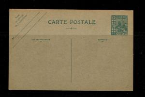 Algeria - 30 Cent - 1927 Postal Card Unused (Bent Corner) - 091717