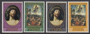 St Lucia 245-8 Easter mnh