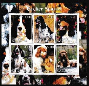 Tadjikistan - DOGS - S.S. - MNH