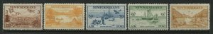 Newfoundland 1933 complete Airmail set mint o.g. hinged