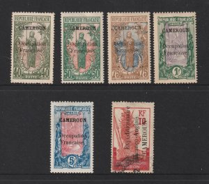 Cameroon (French) x 6 better mint values