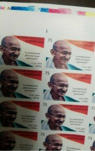 R -7 O) 2019   SPANISH ANTILLES, IMPERFORATED,  MOHANDAS  MAHATMA GANDHI - PACIF
