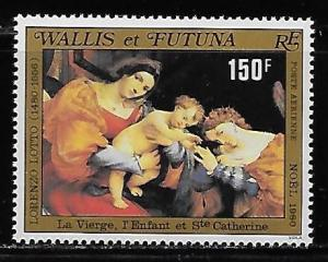 Wallis and Futuna Islands C105 Christmas single MNH