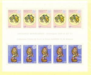 Monaco Scott 1024a Mint NH (Catalog Value $32.50)