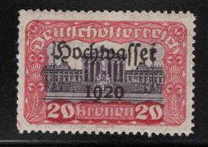 Austria  Scott B49 MH* semi-postal overprint