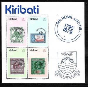 Kiribati 344a: Gilbert and Ellice Island Stamps, MH, VF