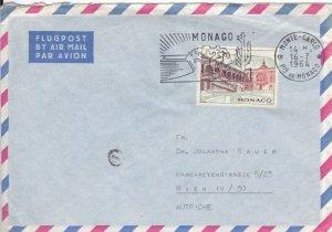 MON40) MONACO 1964 PRINCE RAILIES III: BUILDING; MONACO