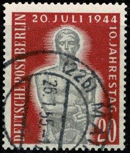 GERMANY BERLIN 1954 ANNI. of HILTER LIFE USED (VFU) SG B116 Wmk.230 P.14 SUPERB