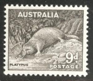Australia Scott 298 MH* Palayatapus 1956